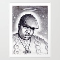 notorious Art Prints featuring Notorious by DaeSyne Artworks