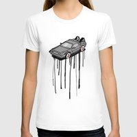 delorean T-shirts featuring Delorean Drip by Vin Zzep