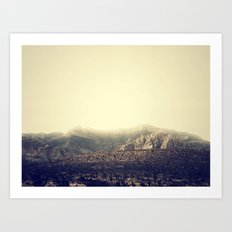 Whispering Mountain Art Print