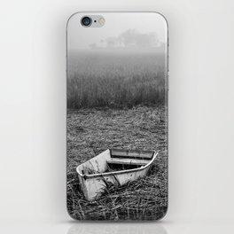 Abandoned Marsh Boat iPhone Skin
