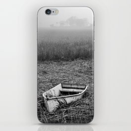 Abandoned Marsh Boat iPhone Skin