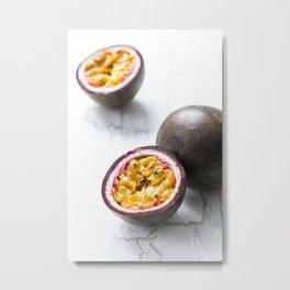 Passionfruit Metal Print