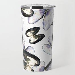 Thick Shelled River Mussel (Unio crassus) Travel Mug