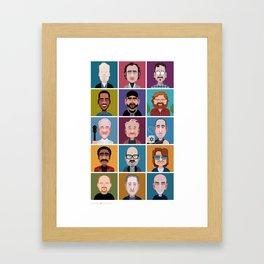 Comics of Comedy: JTK Edition Framed Art Print