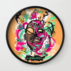 Flying Lotus Wall Clock