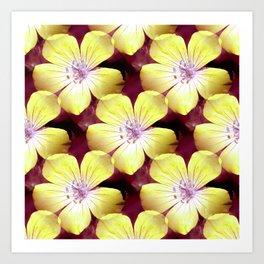 Summery Yellow.... Art Print
