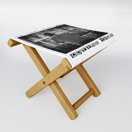 DO NOT DISTURB - Coffee Time Folding Stool