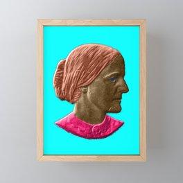 Colorful Susan B Anthony Framed Mini Art Print