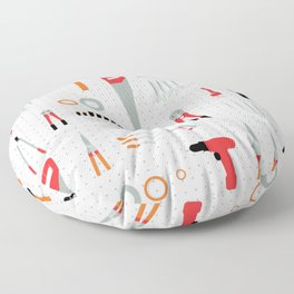 Tool Wall Floor Pillow