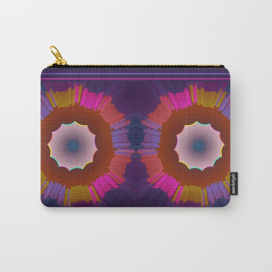 Colourful prismatic abstract Carry-All Pouch