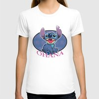 ohana T-shirts featuring Ohana by Une Belle Pagaille