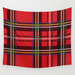 red kilt Wall Tapestry