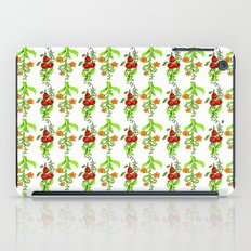 bright trees and fruits iPad Case