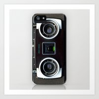 camera Art Prints featuring  Camera  by Bright Enough💡
