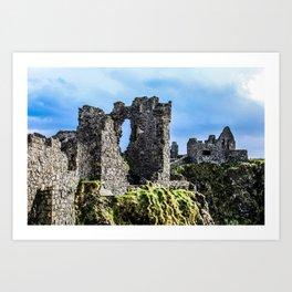 Travel to Ireland: Dunluce Castle Art Print