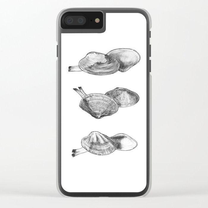Bivalvia serie 2 Clear iPhone Case