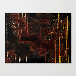 Fearful Rage Canvas Print