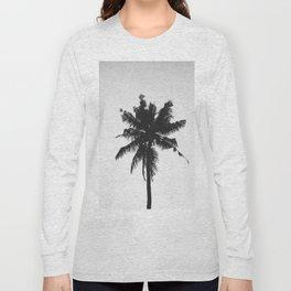 Palm, Tree, Nature, Tropical, Modern, Minimal, Interior, Wall art Long Sleeve T-shirt