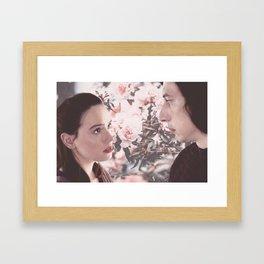 Reylo floral graphic Framed Art Print