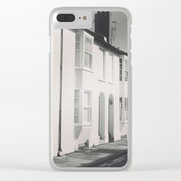 Terraced Houses Clear iPhone Case