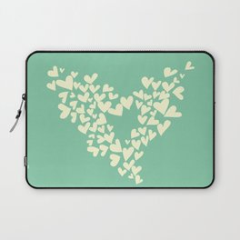 Heart In Hearts. Clouds in the hearts Laptop Sleeve