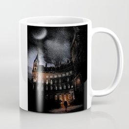 Spooky Victorian London Architecture Coffee Mug