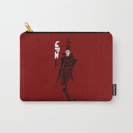 lord death soul eater Carry-All Pouch