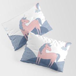 Unicorn hills Pillow Sham