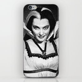 Lily Munster iPhone Skin