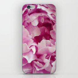 I Love peonies iPhone Skin