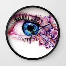 The Soul Would Have No Rainbow If The Eyes Had No Tears Wall Clock