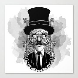 Steampunk Man Canvas Print