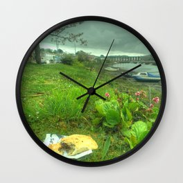 Pasty of Hayle Wall Clock