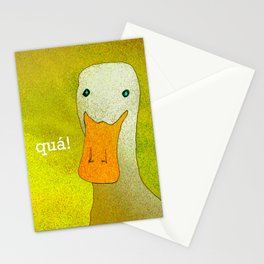 White Duck! Stationery Cards