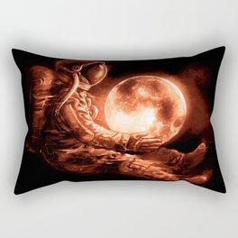 Moon Play Rectangular Pillow