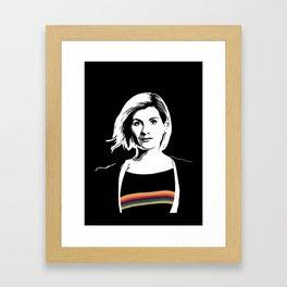 The Thirteenth Doctor Framed Art Print