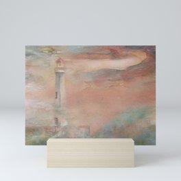 Color Storm at St. Ignace Mini Art Print