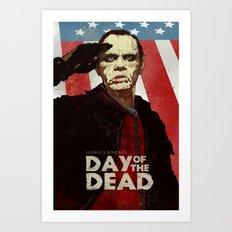 Bub The Friendly Zombie Art Print