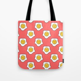 Happy Eggy Tote Bag