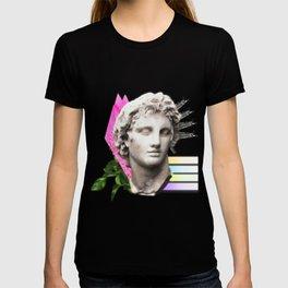 Vaporwave Roman Bust T-shirt