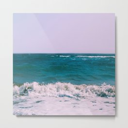 BEACH DAYS X Metal Print