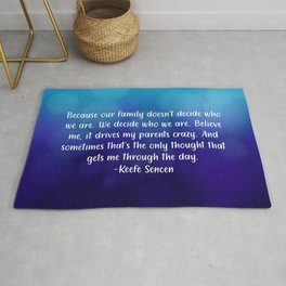 Keefe Quote Rug