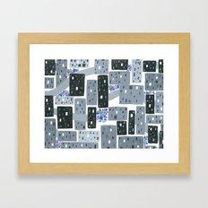 Occupy Movement Granules, Forgotten City, Metro Population < 500,000 Framed Art Print