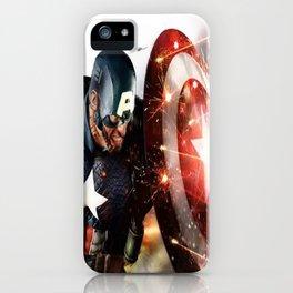Man Of Captain In America iPhone Case