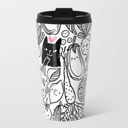 Funny Vegetables Travel Mug