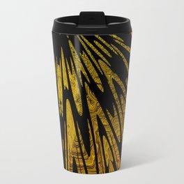 Native Tapestry in Gold Travel Mug