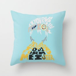 soul eater evans Throw Pillow