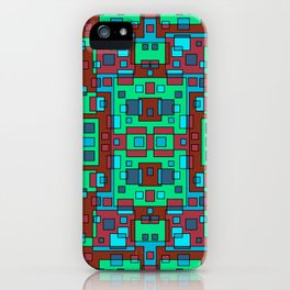 OVERLAP SQUARES  iPhone Case