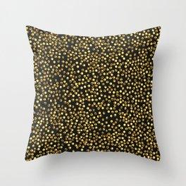 Push Pins K Throw Pillow