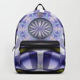 Pinwheel Hubcap in Purple Backpack